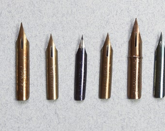 Vintage Pen Nibs: Artist Set