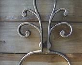 Cast Iron Architectural Salvage Metal Buffet Trivet Vintage Home Decor - 2043