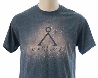 Stargate Bleach Dye Tee Shirt