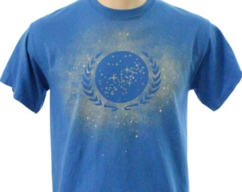 Federation Bleach Dye Tee Shirt