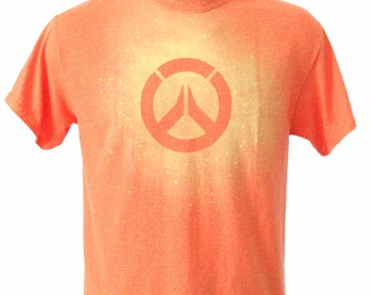 Overwatch Bleach Dye Tee Shirt