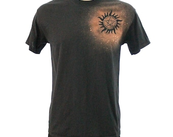 Supernatural Bleach Dye Tee Shirt