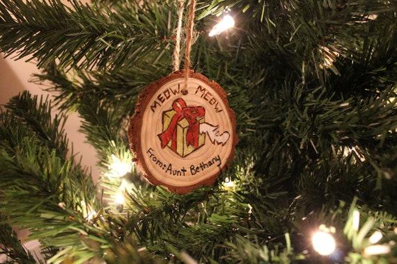 National Lampoo Christmas Vacation.National Lampoons Christmas Vacation Aunt Bethanny Cat Ornament