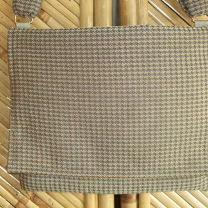 Elegant satin brocade hip bag LB08