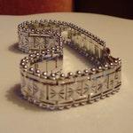 White Gold Bracelet Gold Filled Bracelet Womens Bracelet Gift For Women Bracelets For Women Cuff Bracelet Engraved Bracelet Gold Filled Cuff