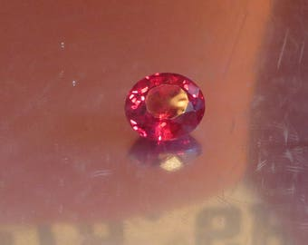 AAA 25.70 Ct Lab Created Ruby Gemstone Synthetic Ruby Gemstone Man Made Ruby