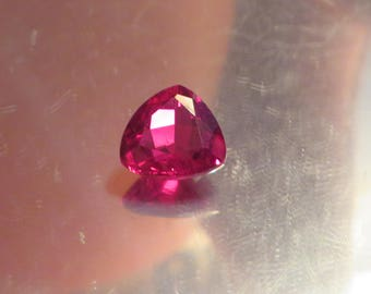 AAA 13.00 Ct Lab Created Ruby Gemstone Synthetic Ruby Gemstone Man Made Ruby