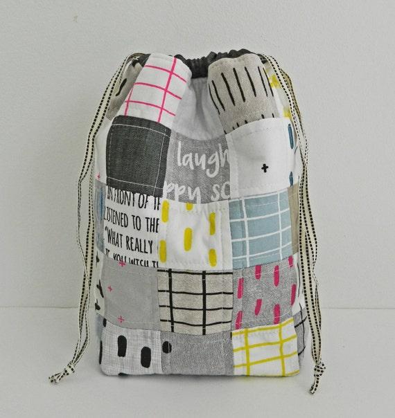 Drawstring Bag Pdf Sewing Pattern Instant Download Sewing Etsy