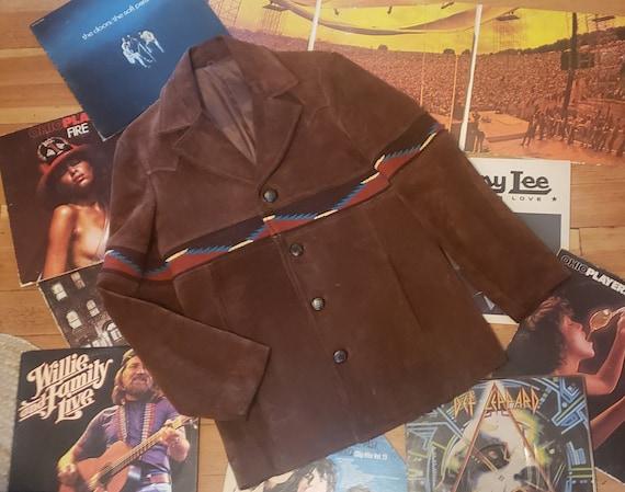 vintage 70s 1970's Pioneer Wear Pioneerwear brown