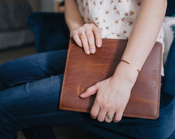 Leather iPad Sleeves
