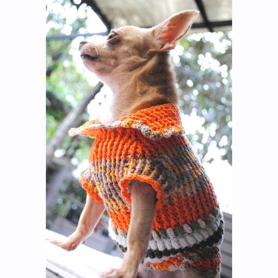 Hunde Kleidung Xxs Süßen Chihuahua Pullover Stricken Warmen Etsy