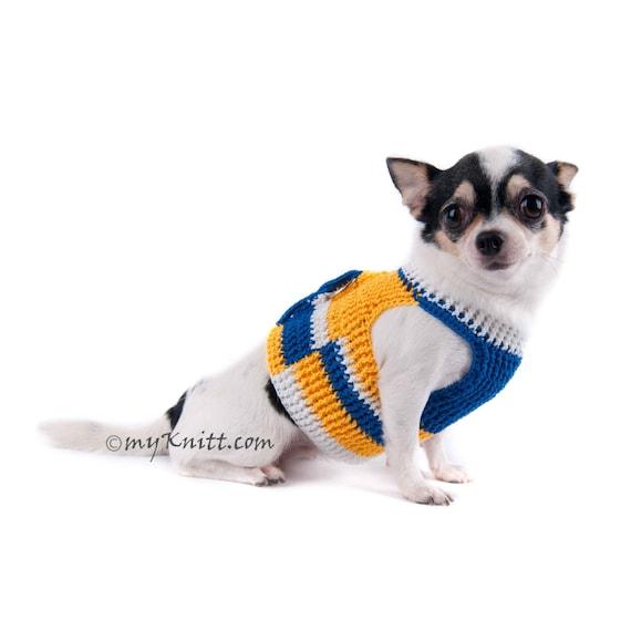 il_570xN.1012568499_3p81 adjustable dog harness crochet dog collar chihuahua harness etsy