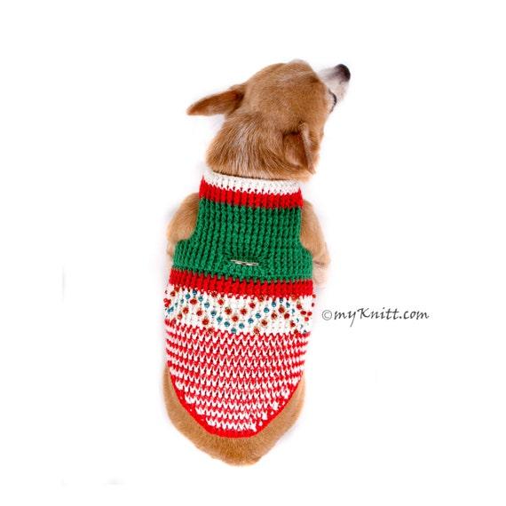 Weihnachtsbaum Hundegeschirr rot grün böhmischen Chihuahua   Etsy