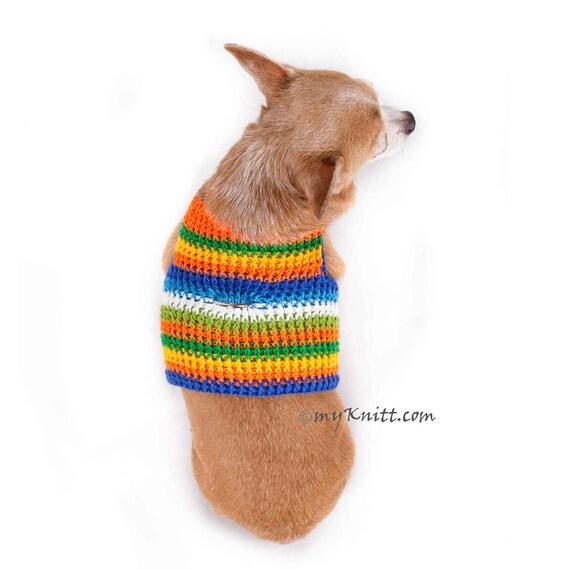Chihuahua Geschirr Häkeln Hund Nutzen Keine Ziehen Hund Etsy