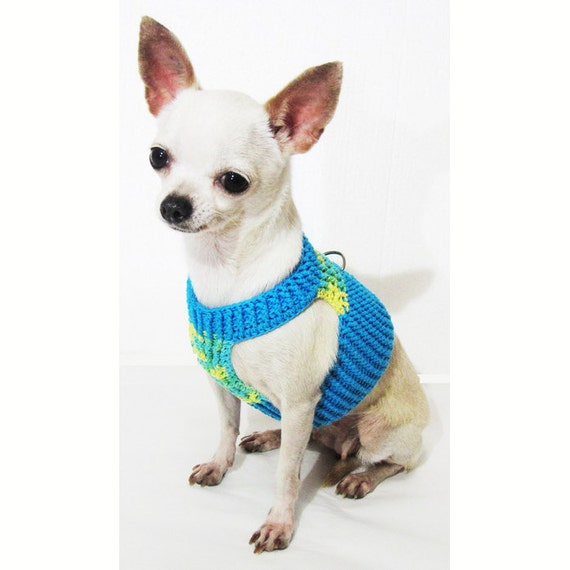 il_570xN.937141434_sx4v choke free soft dog harness cotton dog harness hand crochet etsy