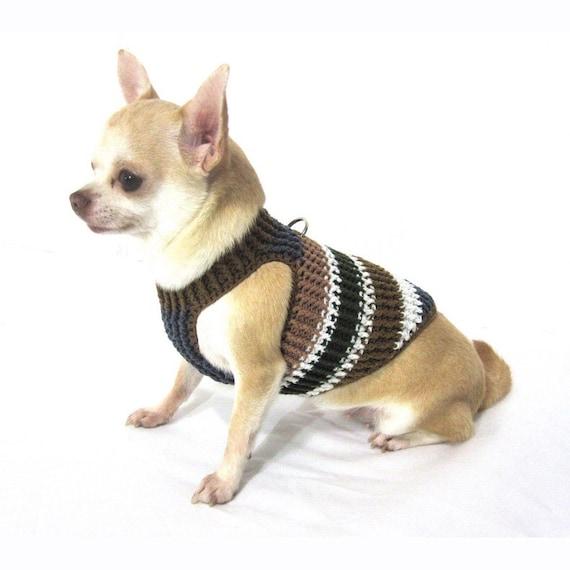 Brauner Hund Geschirr Hunde-Geschirr-Weste Hundegeschirr | Etsy