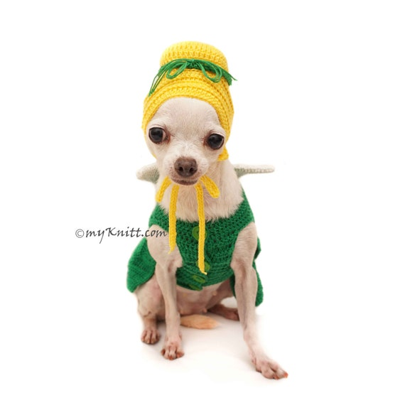 Tinkerbell Haustier Kostüm Halloween Tinkerbell Hund häkeln   Etsy