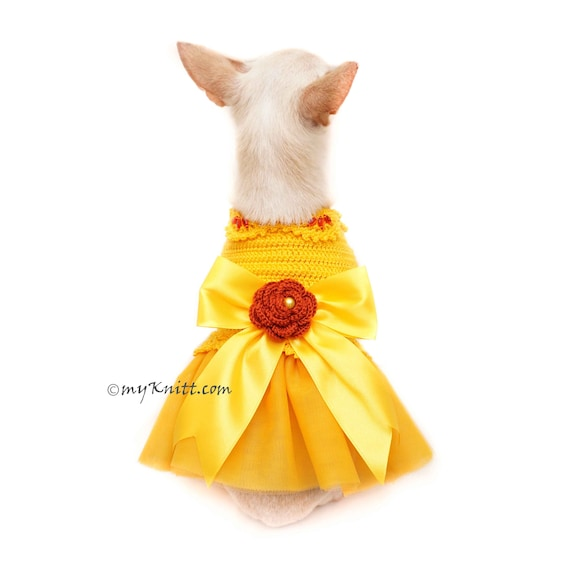 Frühling Hund Kleid Schleife Satinband Dog Hochzeitskleid   Etsy