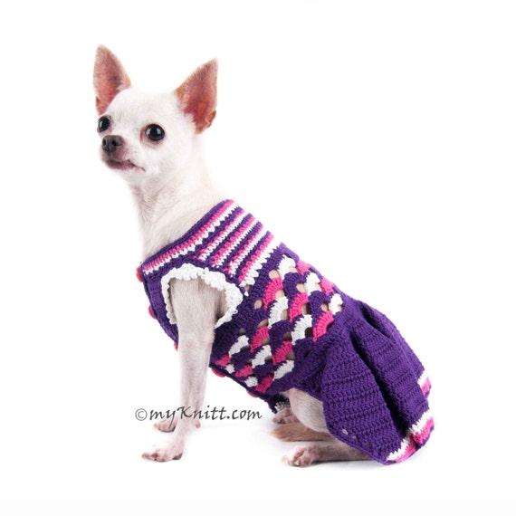 Lila Kleid Hund Kleid Hochzeit Mädchen Hundebekleidung   Etsy