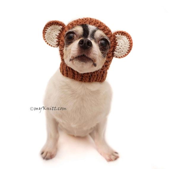 Affe Hund Hut rosa Sock Monkey Hund Kostüm Affe Hut häkeln | Etsy