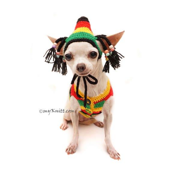 Bob Marley Hundekostüme Rastafari Hut Rasta Mütze Rasta | Etsy