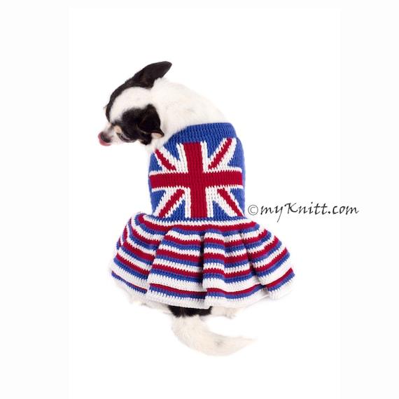 Union Jack Hundekleid britischer Flagge Hund Kleidung Hund