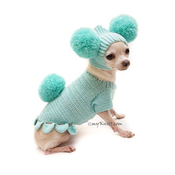 Hase Ostern Hund Outfit Süßes Haustier Häschen Pom Pom Hund Etsy