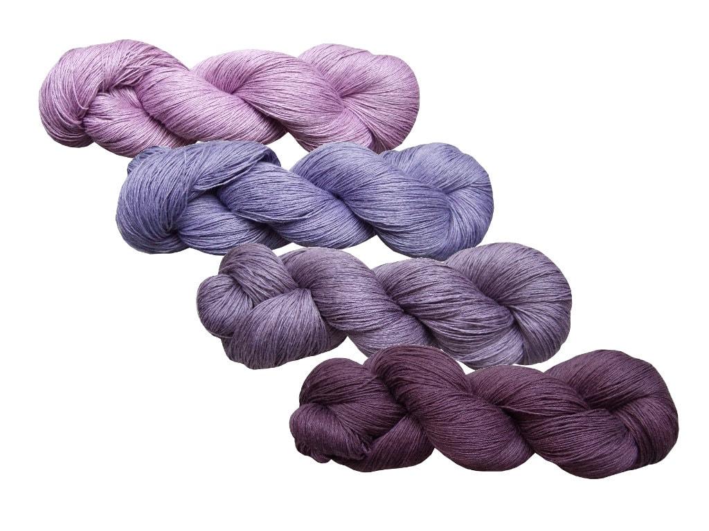 High quality 100% LINEN yarn 400gr 4 hanks x 100 grPure | Etsy