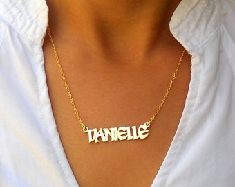 Name Necklace - Personalized Name Necklace - Custom Name Necklace - Nameplate Necklace - Personalized Name Jewelry