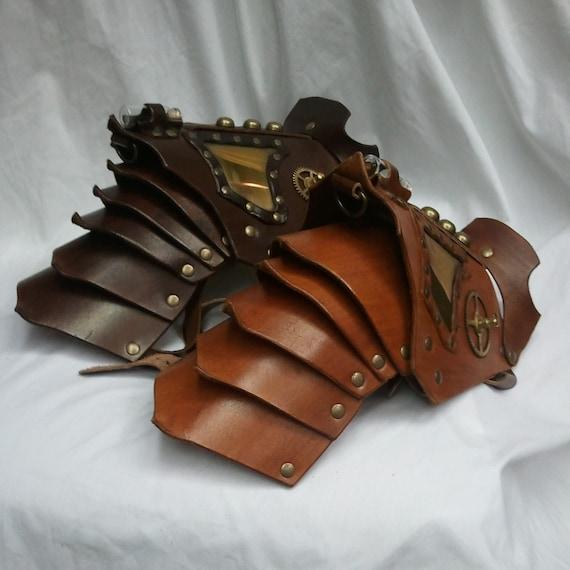 steampunk plate armor