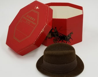 88ed39058d7be Fedora Hat - Fedora Style Hat with Dobbs Fifth Avenue Hat Box