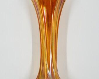 """Imperial Marigold Morning Glory mini vase - 6-1/2"""""""