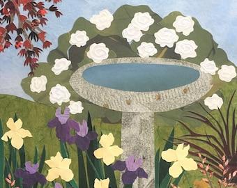 """Garden Tour - giclee reproduction - 8"""" x 10"""""""