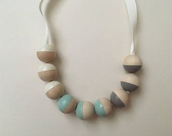 Custom- Mini ribbon Necklace