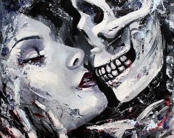 Image of: Creepy 8 Fine Art Print Etsy Dark Art Etsy
