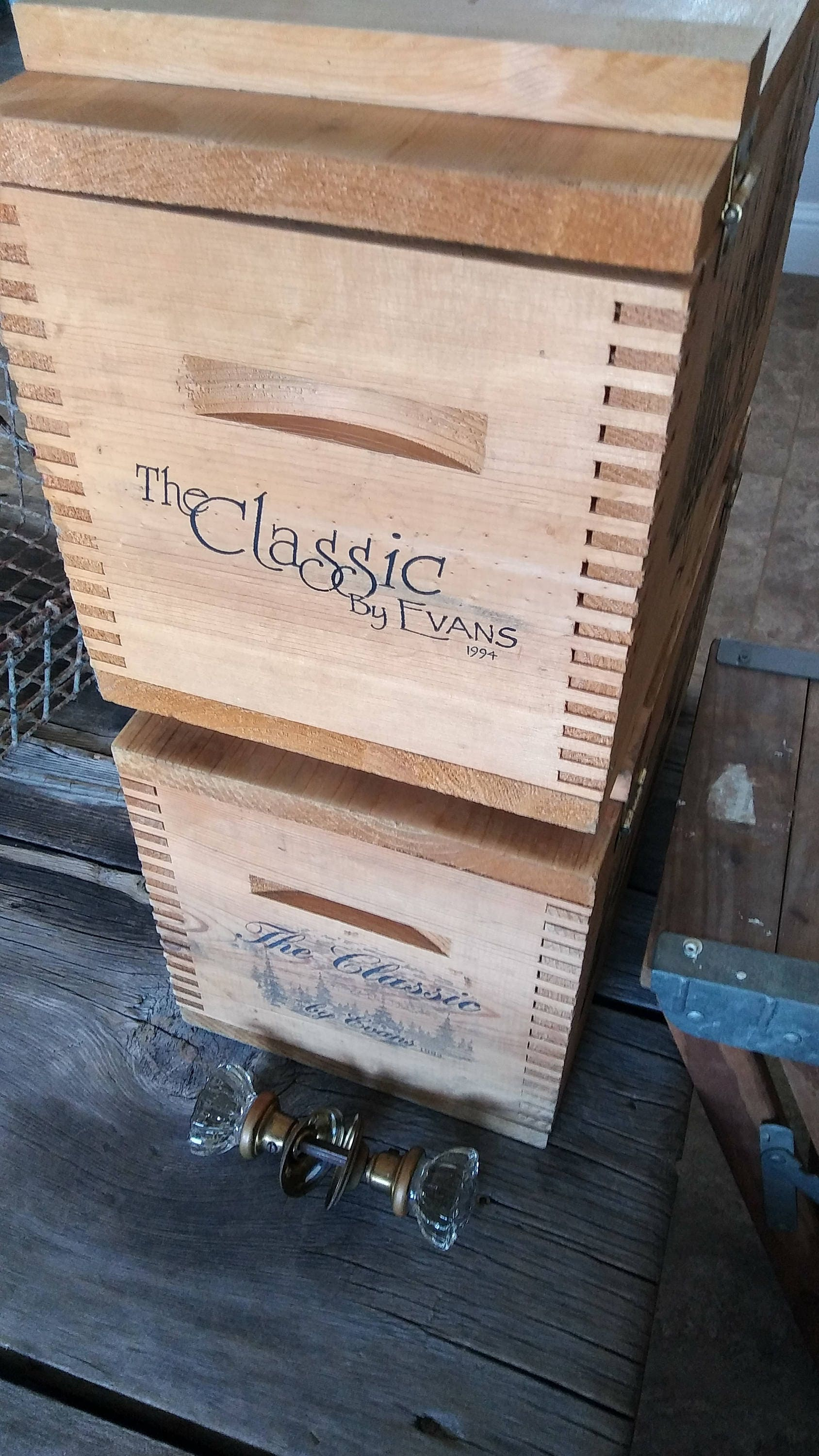 Wooden Ammo Crate Evans Classic Vintage Crate Deer Ammo Crate Sale 10 Off
