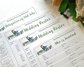 hair and makeup wedding planner questions to ask worksheet etsy