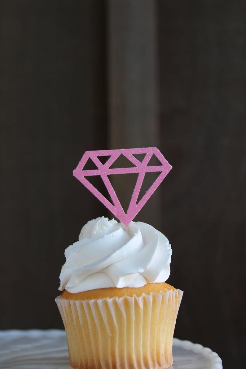 Image 0: Wedding Ring Cupcake Picks At Websimilar.org