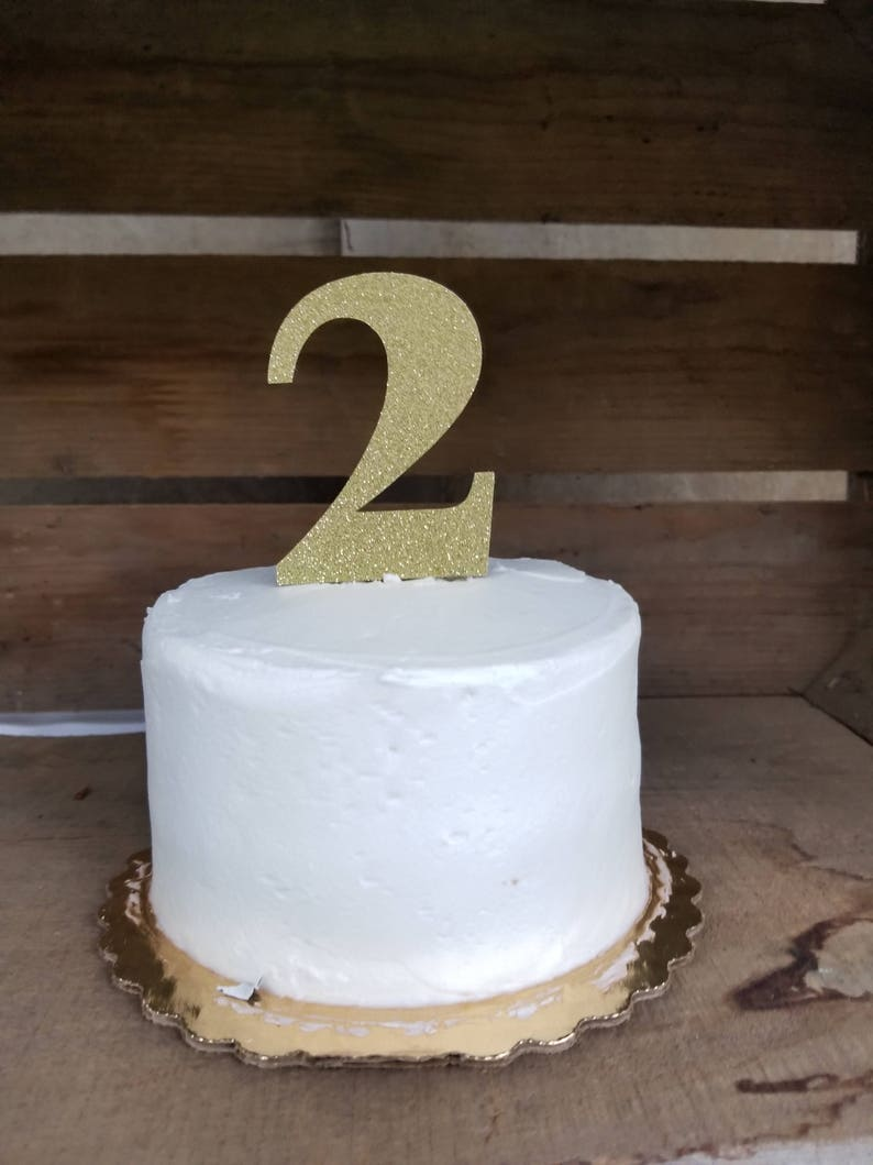 Cake Smash Topper Number Birthday Top