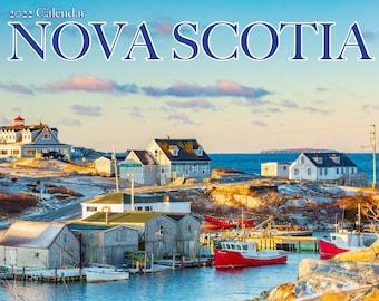 """2022 Large Nova Scotia Wall Calendar, 12x11.5"""", calendar, Nova Scotia, Halifax"""