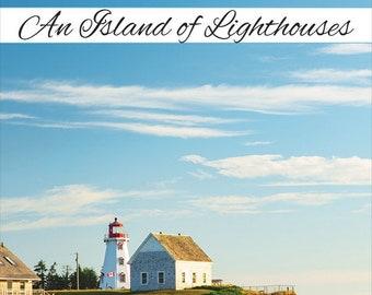 An Island of Lighthouses book, PEI Book, PEI Art, PEI Photos, Victoria Park,