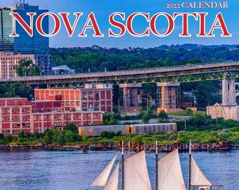 """2022 Small Nova Scotia Wall Calendar, 6.5x6.5"""", calendar, Nova Scotia, Halifax"""
