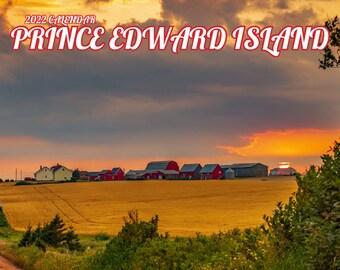 "2022 Small Prince Edward Island Wall Calendar, 6.5x6.5"", calendar, pei prints, pei art,"