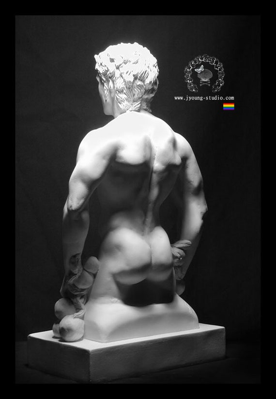 Hellenic Faun Male Nude Torso Study Sculpture Limited To 100 Hellenistic Art