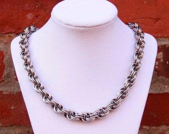 Spiral Weave Necklace