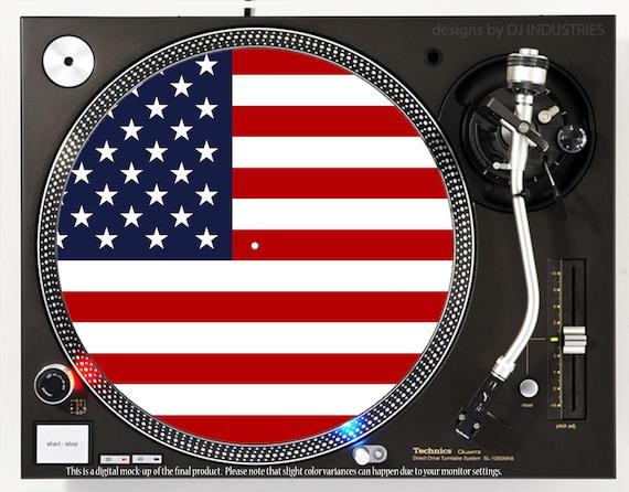 DJ Industries Russia Flag DJ slipmat