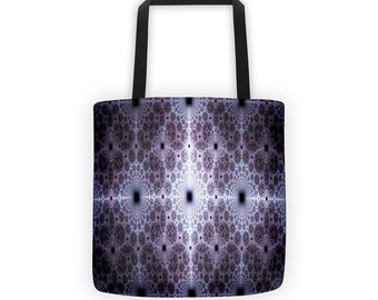 Fractal Progression Designer Tote Bag