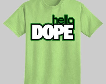 In Race Style - hella DOPE t-shirt