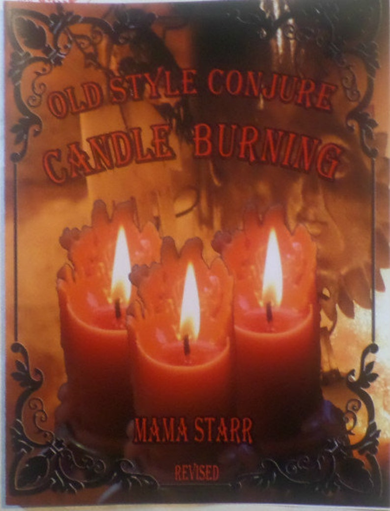 Old Style Conjure Candle Burning book