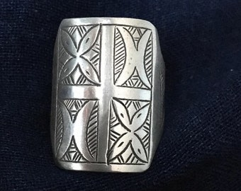 Tuareg SILVER Ring, Inner Diameter 1.9 / US size 9 1/2
